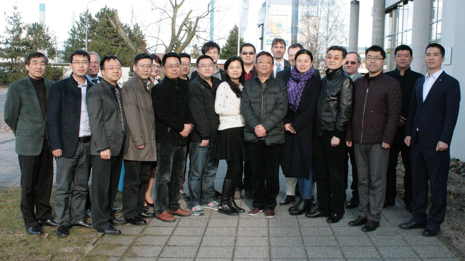 Chinesische Delegation zu Gast