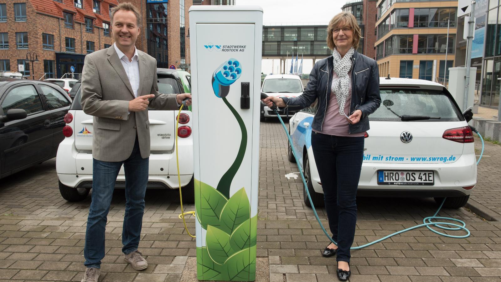 Erweiterung der E-Mobilität