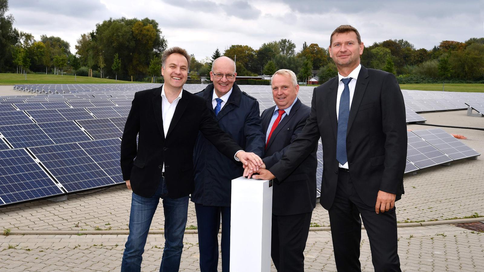 Vom Gaswerk zur Sonnenenergie