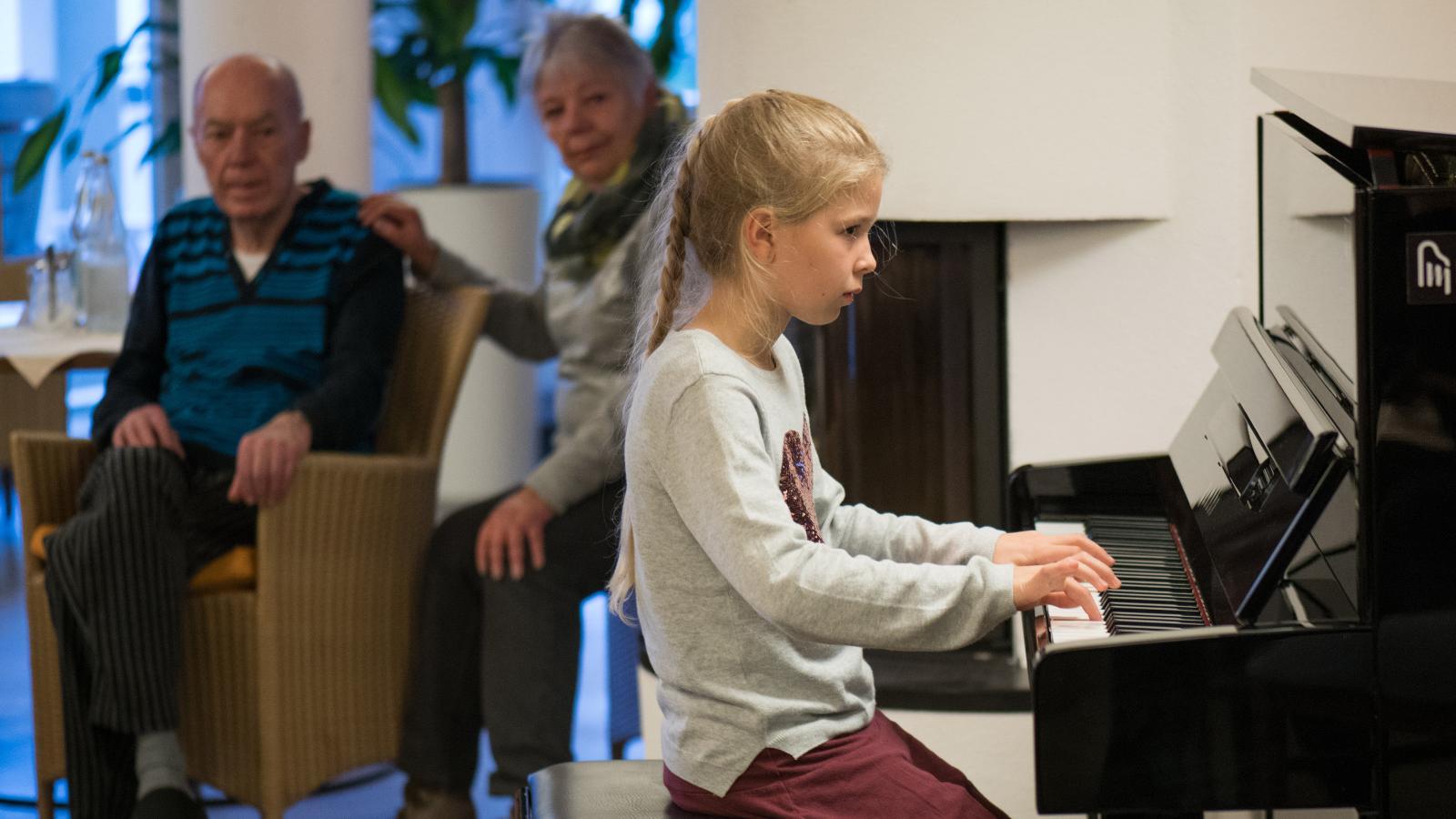 Schüler musizieren für Senioren 2017