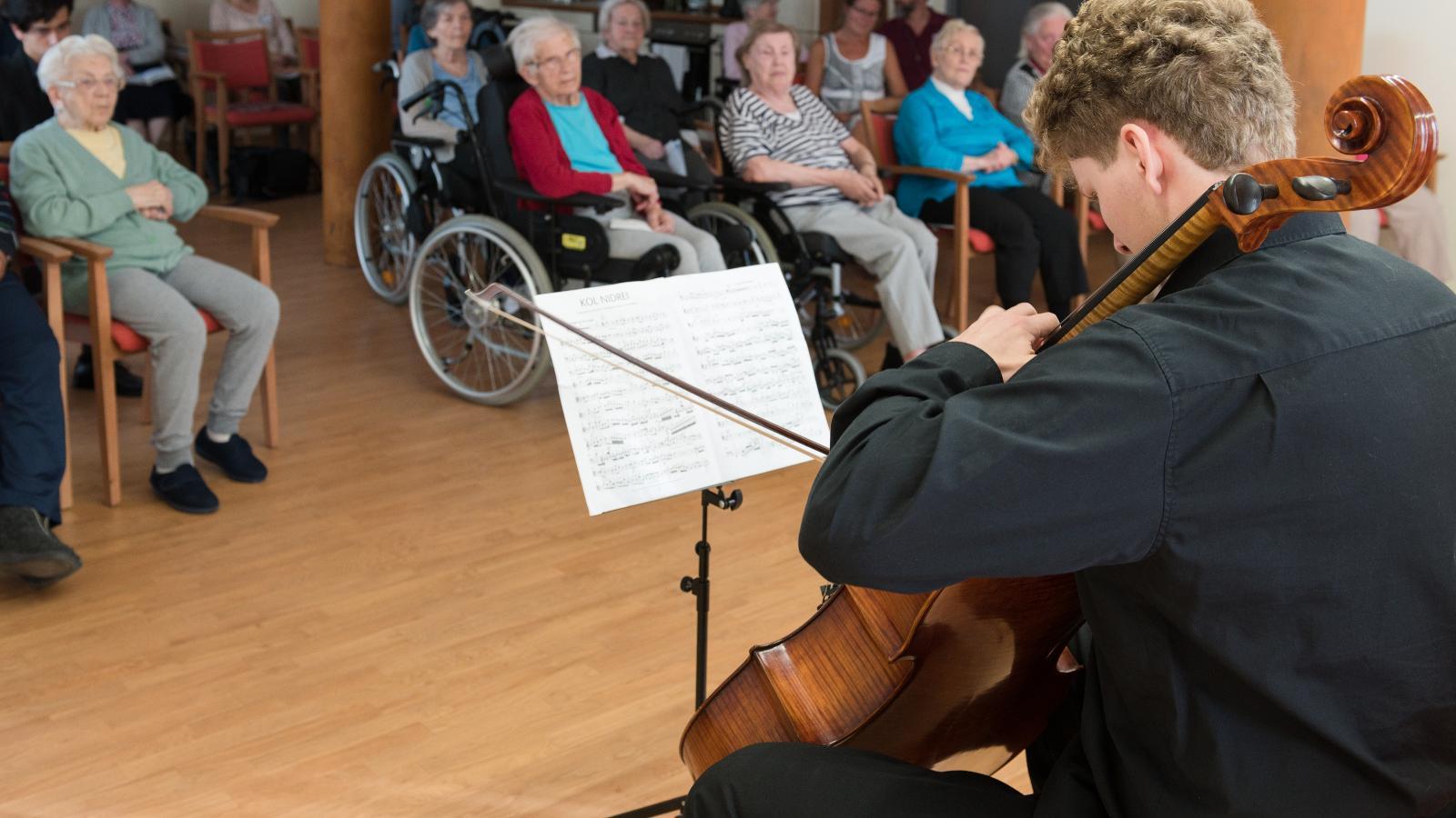 Schüler musizieren für Senioren 2018