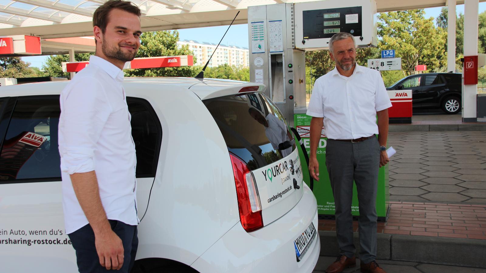 Carsharing mit Erdgas