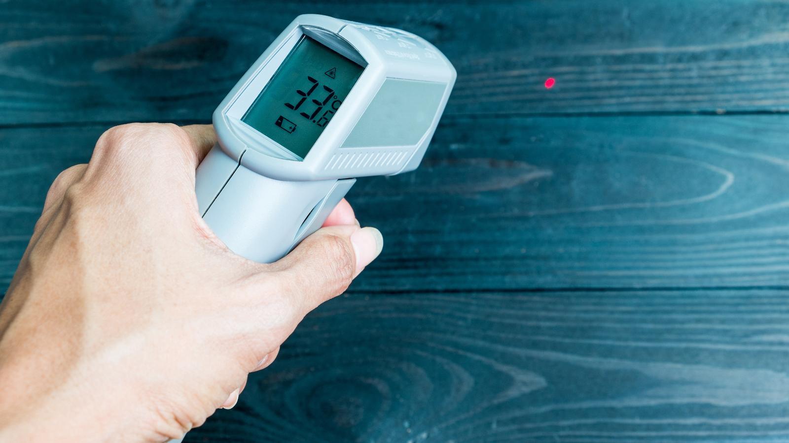 Infrarot-Thermometer – hilft, Energie nicht unnötig zu verheizen -