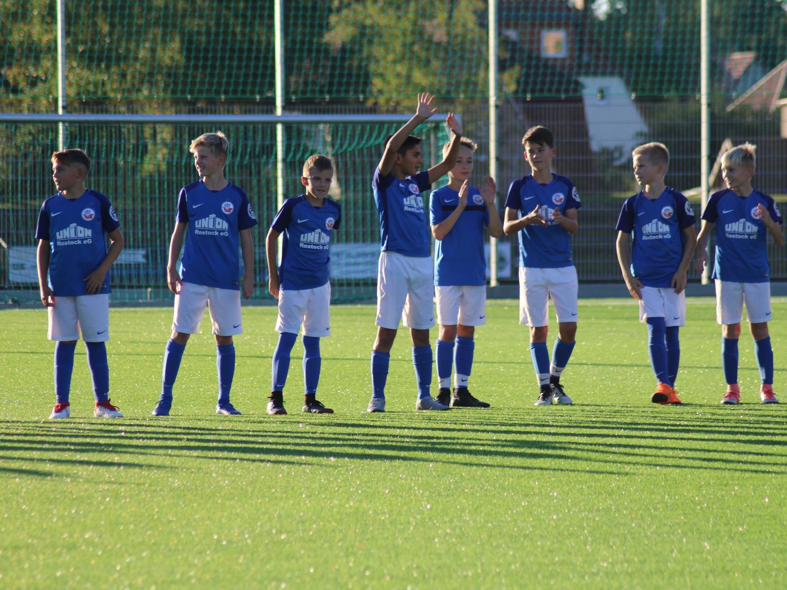Hansa Nachwuchsakademie beim Training