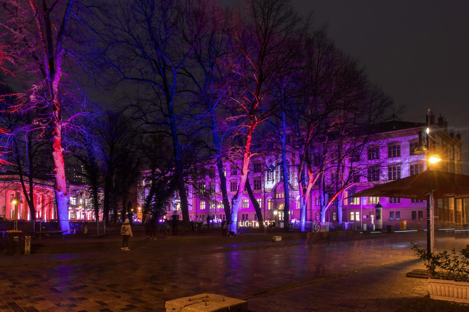 Blick von der Kröpeliner Straße Richtung Universitätsplatz.