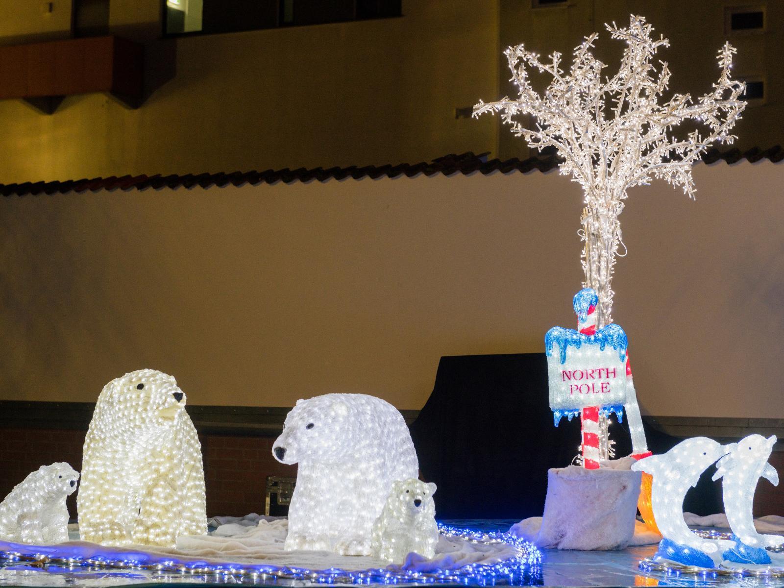 Die traditionelle Nordpol-Gruppe erwartete alle Kinder dieses Jahr im Klostergarten