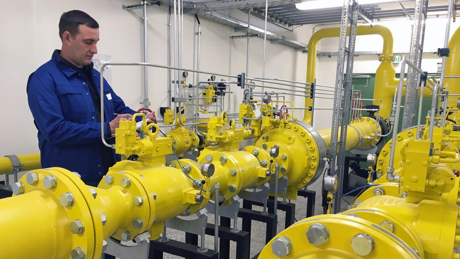 Unser Erdgas-Netz