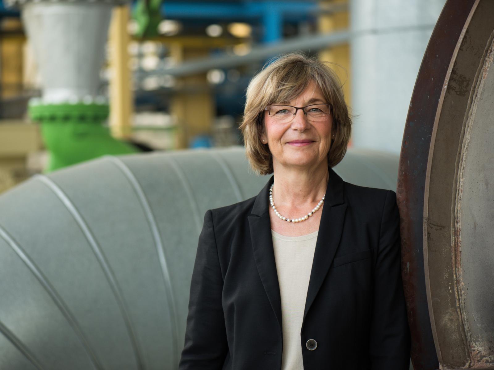 Vorstands-Mitglied Stadtwerke Rostock, Ute Römer; Foto: Margit Wild